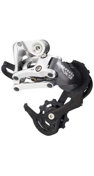 SRAM X9 gear 9-speed kort cage sort